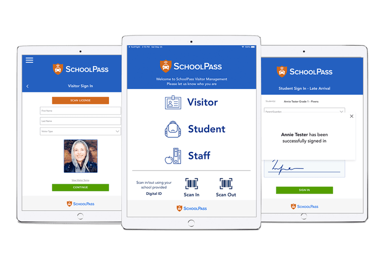 Visitor Management System for Schools