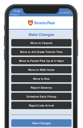 School Dismissal App for Parents