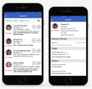 School emergency attendance app